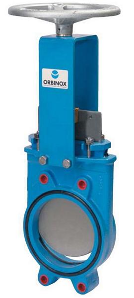 ORBINOX EX-01 затвор чугуный Ду200 Ру10